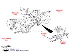 keen corvette 1969 corvette big block alternator without power steering parts