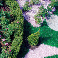 recycled landscape glass rocks colored glass gravel and mulch