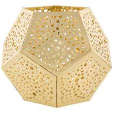 metal tea light holders gold metal punched geometric tea light holder hobby lobby 1133156