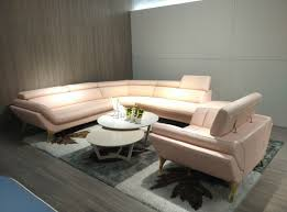 pink leather sectional sofa divani casa 1541 modern pink leather sectional chair set leather