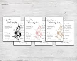 Wedding Bulletin 60 Best Wedding Programs Images On Pinterest Wedding Programs