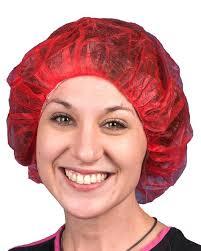 hair net disposable polypropylene bouffant hair caps saraglove