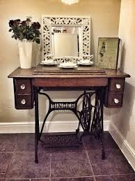 Table Up Best 25 Antique Sewing Machine Table Ideas On Pinterest Singer