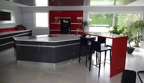 cuisine thionville modern kitchen with island sensations model