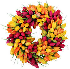 Tulip Wreath Tulip Wreaths Redhead Can Decorate