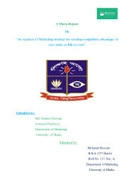 thesis marketing topics marketing strategy of bikroy com for creating competitive advantage