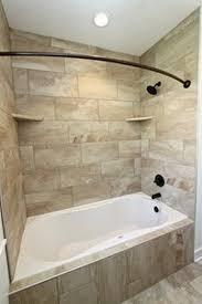 Small Bathroom Ideas With Tub Corner Tub W Larger Walk In Shower Do Not Like The Wall Next To