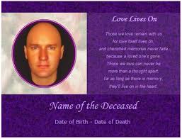 Funeral Card Template 9 Best Images Of Memorial Card Templates Free Funeral Memorial