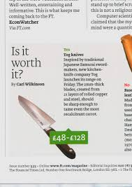 Kitchen Knives London Press Coverage Tog Elite Japanese Kitchen Knives Best Japanese