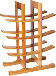 amazon com oceanstar wr1149 12 bottle natural bamboo wine rack