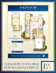Solivita Floor Plans Solivita U2013 Lee Wetherington Homes