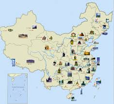 Xi An China Map by China Travel China Tour China Travel Map China World Heritages