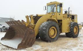 1981 caterpillar 988b wheel loader item da5247 sold feb