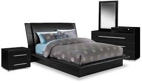 Upholstered Bedroom Sets Dimora 6 Piece Queen Upholstered Bedroom Set With Media Dresser