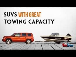 2013 jeep patriot towing capacity suvs with great towing capacity