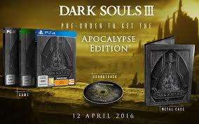 dark souls iii special editions revealed