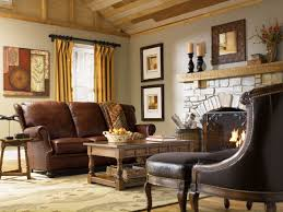 elegant sofa combined with country interior for chic look bring
