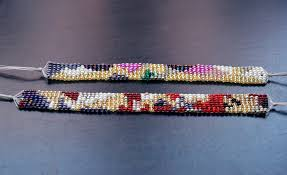thread bead bracelet images Diy bead loom bracelet all the good girls go to heaven JPG