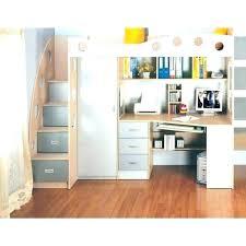 lit mezzanine avec bureau intégré lit mezzanine avec bureau et armoire integres lit superposac bureau