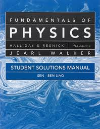 buy student solutions manual for fundamentals of physics book