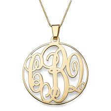 mongram necklace 14k gold monogram necklace forevermom