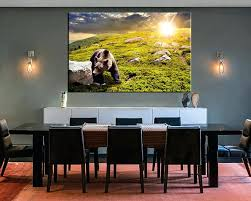 dining room artwork restaurant wall art 1 piece large canvas dining room canvas wall