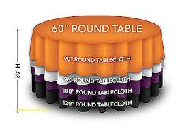5ft round table in inches the most round tablecloth size guide pertaining to what for a 5ft