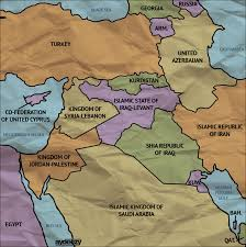 Political Map Of Middle East by New Middle East Map By Ay Deezy On Deviantart