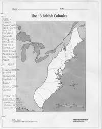 Thirteen Colonies Map Unit 1 American Colonies U0026 Revolution Mrs Heldt U0027s 8th Grade