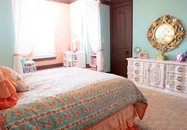Pink And Gold Bedroom Decor by Bring In Some Coral Hues With Smart Fabric Accents And Decor Blue