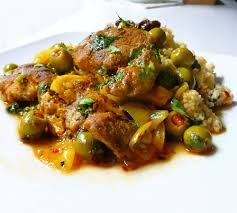 cuisine marocaine tajine tajine de poulet aux olives vertes recette ramadan 2017