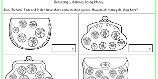addition using money ks1 reasoning test practice classroom secrets