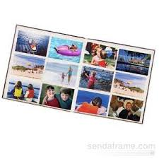 photo albums with memo area 12 at a time post bound elite burgundy album w memo area 4x6