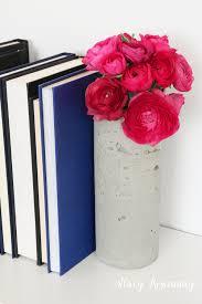 Creative Vase Ideas Diy Concrete Vase Stacy Risenmay