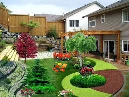 Sloping Garden Ideas Photos Backyard Landscaping Slope Beautiful Landscaping Small Backyard