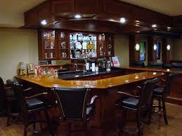 basement stunning bar decor plus recessed lighting in bars for