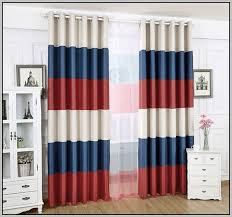 Red Blue Curtains Red Blue And White Striped Curtains Curtains Home Design Ideas