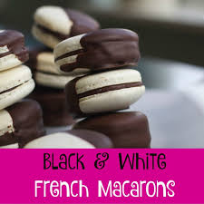 chocolate dipped french macarons recipe spinach tiger
