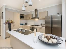 702 Hollywood The Fashionable Kitchen by The Bachelor U0027s Richie Strahan Sells His Perth Home Daily Mail Online