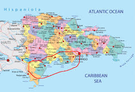 Southern Caribbean Map by Southern Reg Dominican Fun Dominican Republic Adventure