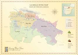 Louisiana Map With Cities And Towns by Rioja Wine Map Spain U0027s Most Famous Wine Region Cellartours