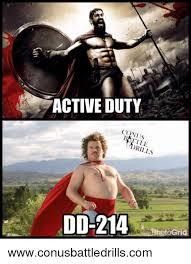 D D Memes - active duty co dd 214 togri wwwconusbattledrillscom meme on