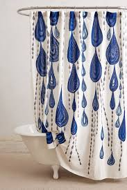 Unique Bathroom Shower Curtains Jardin Des Plantes Shower Curtain Anthropologie