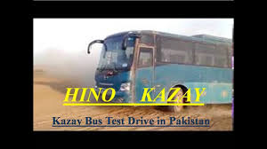 kazay hino pak bus off road test in desert karachi pakistan