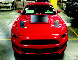Black 2015 Mustang How To Install Roush Heat Extractors Molded Black On Your 2015