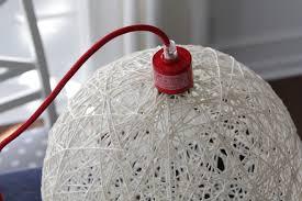 diy yarn light fixture honest to nod