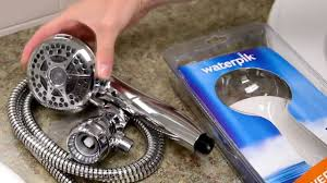 hand held shower heads how to install hidden pivot ball youtube