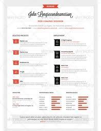 Illustrator Resume Templates 37 Stylish Resume Templates Pixelpush Design