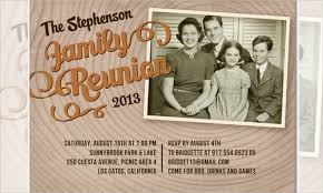 family reunion booklet sle free printable family reunion invitations