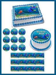 finding dory edible cake topper u0026 cupcake toppers u2013 edible prints